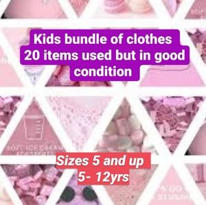 Bundle of girls clothes 20 items
